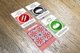 Kauniit pelikortit houkuttelevat hamstraamaan.